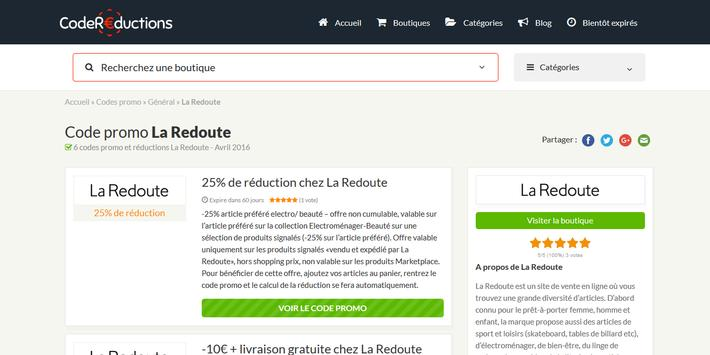 Couponer.fr - Codes promo et réductions screenshot 7