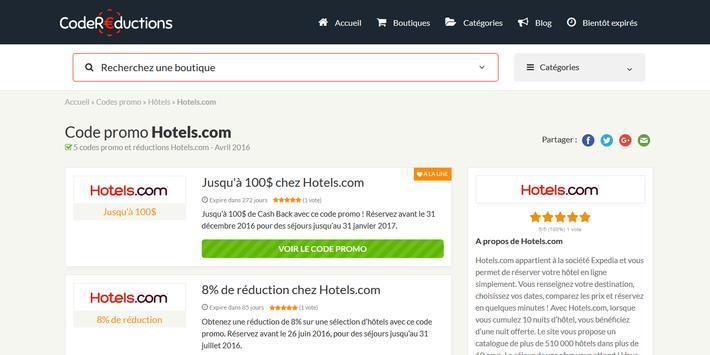 Couponer.fr - Codes promo et réductions screenshot 8