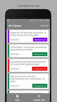 NFG Reader apk screenshot