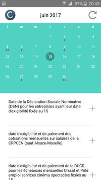 Calendrier Social Pro. apk screenshot
