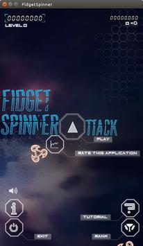 Fidget Spinner Attack poster