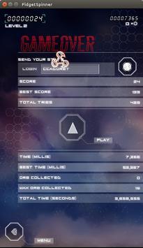 Fidget Spinner Attack apk screenshot