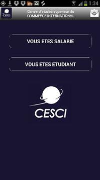CESCI Commerce International poster