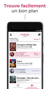 CinéPool - Le ciné à petit prix apk screenshot