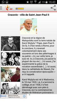 JMJ 2016 Français apk screenshot
