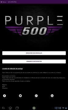 PURPLE 500 screenshot 6