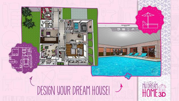 Home Design 3d My Dream Home Apk Screenshot