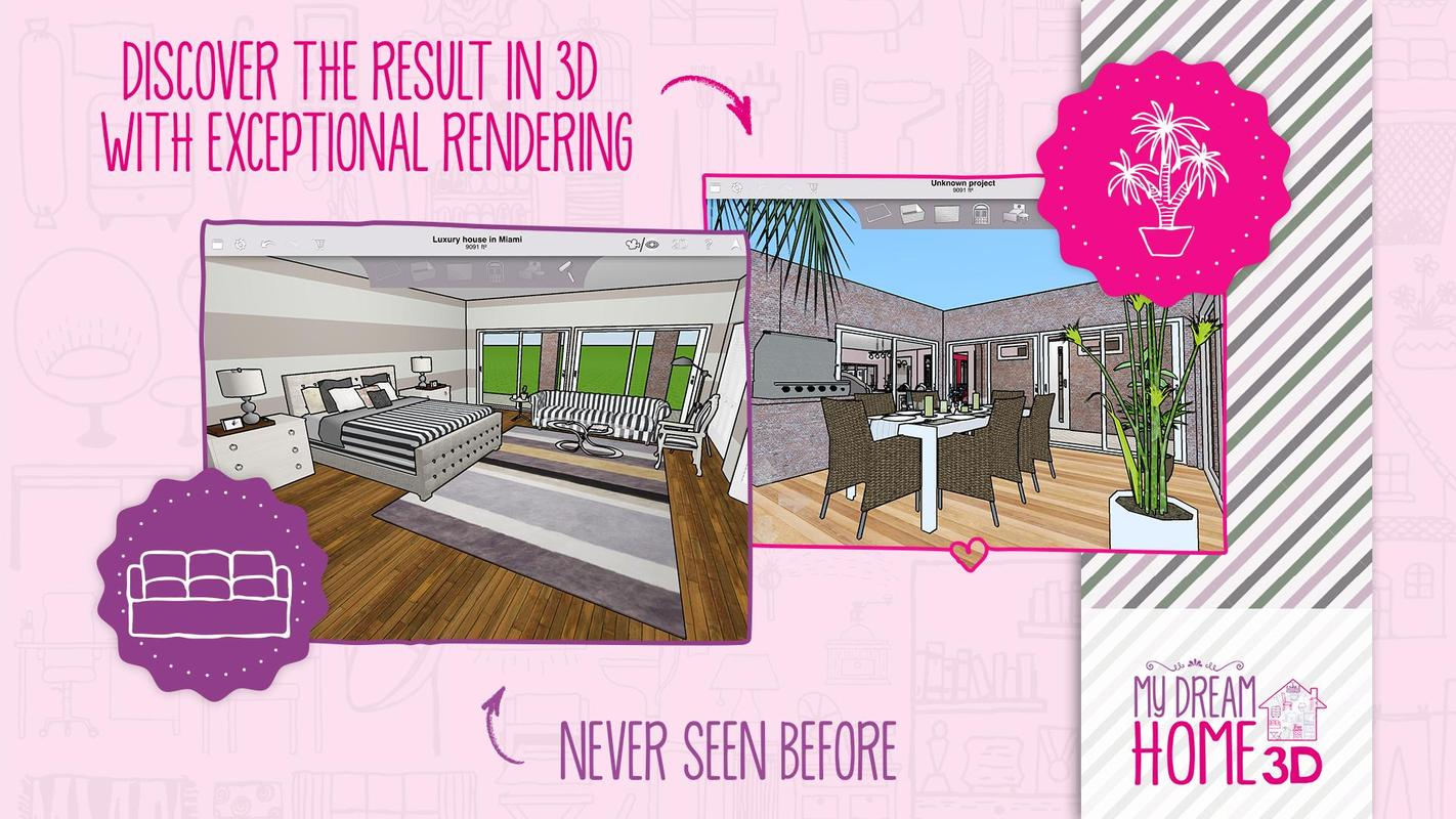 Home design 3d my dream home for android apk download - Design my dream home online free ...