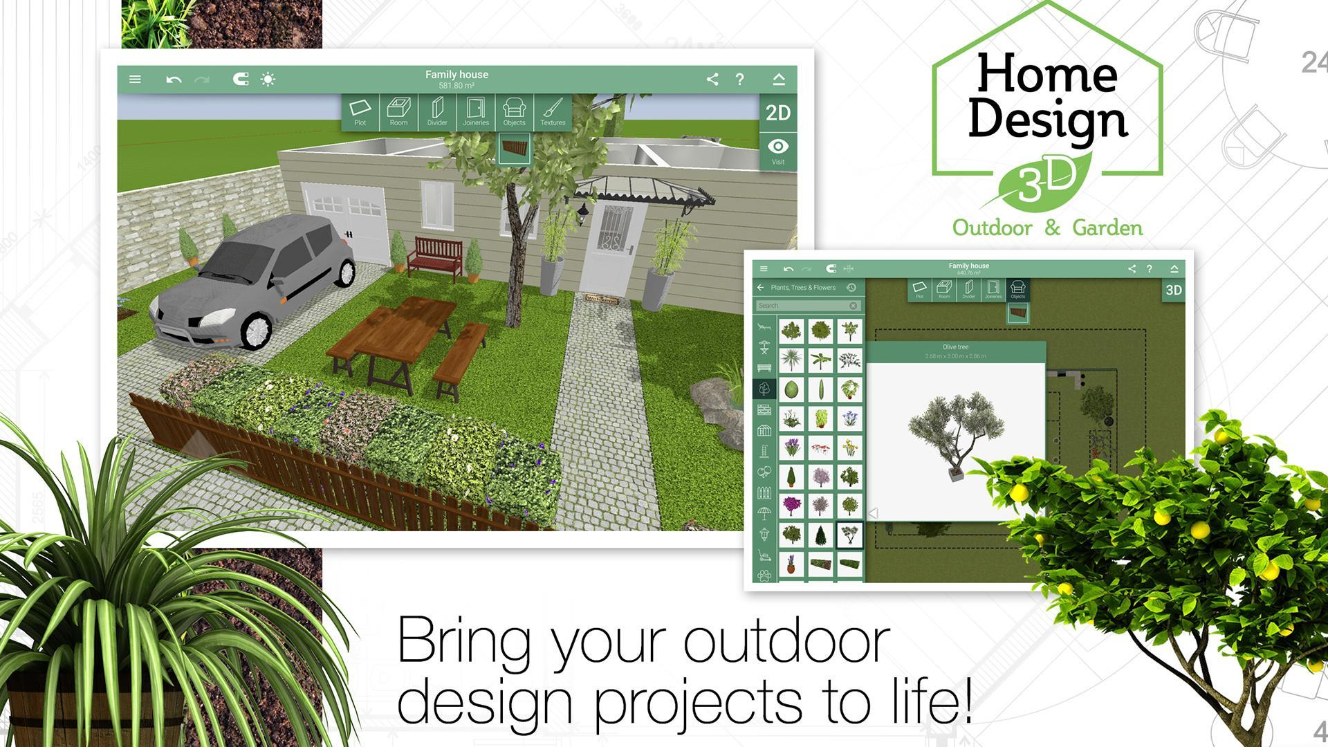 Home Design 3d Outdoor Garden For Android Apk Download