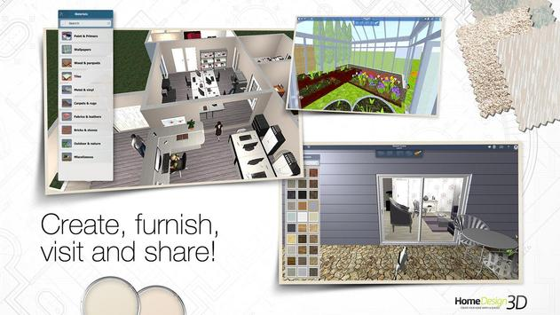 home design 3d apk screenshot - Download Home Design 3d