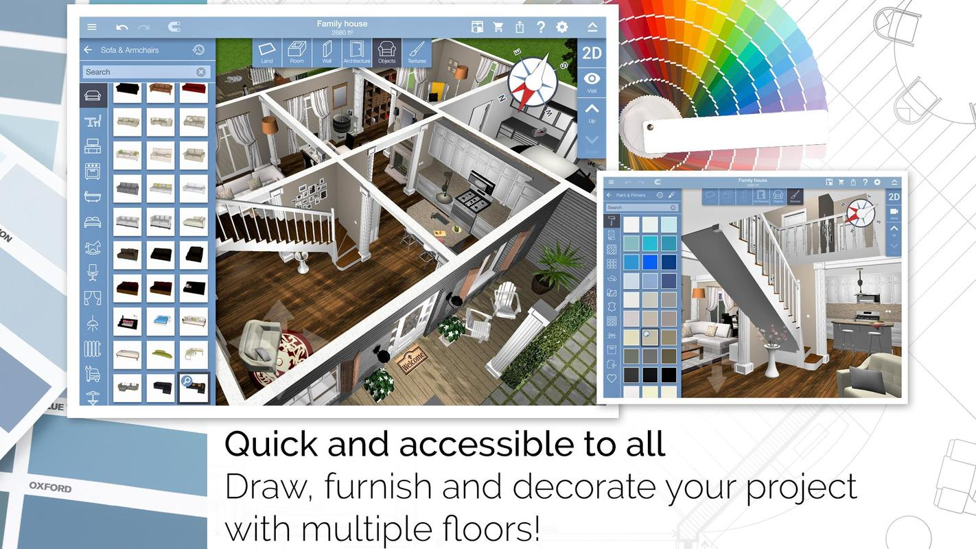 Home design 3d for android apk download for Home design 3d gratis italiano