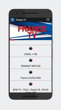 France TV Chaine HD Info 2018 apk screenshot