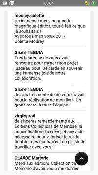 Editions Collections Mémoire screenshot 6