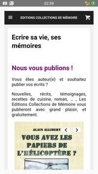 Editions Collections Mémoire screenshot 8