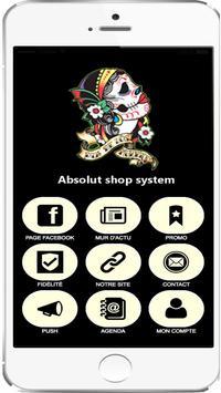 Absolut Shop System poster