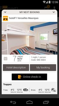 hotelF1, rooms at low prices APK-screenhot