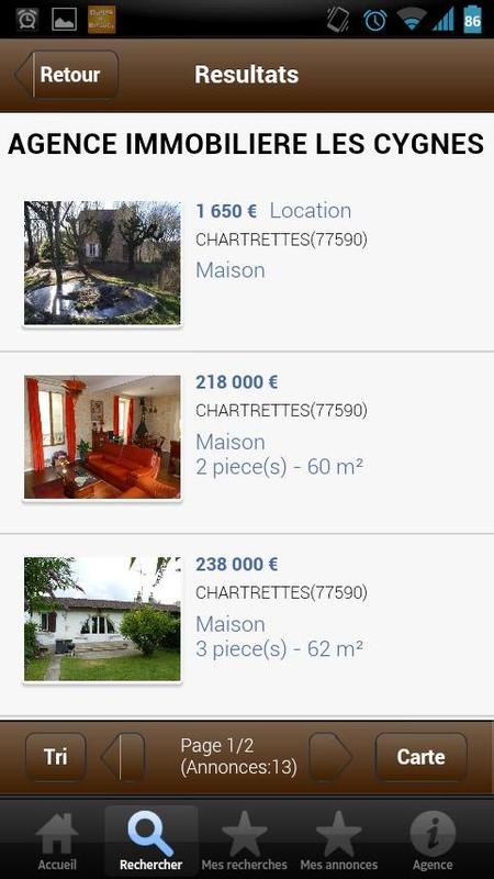 Agence immobili re les cygnes apk download gratis alat for Tout les agence immobiliere