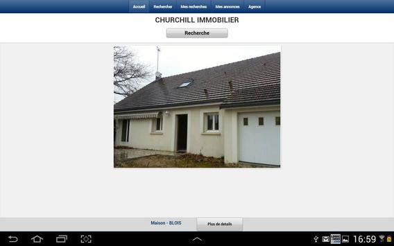 Churchill Immobilier poster