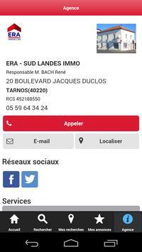 Agence Immobilière ERA TARNOS apk screenshot