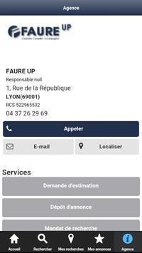 FAURE UP Annonces Immobilières screenshot 3