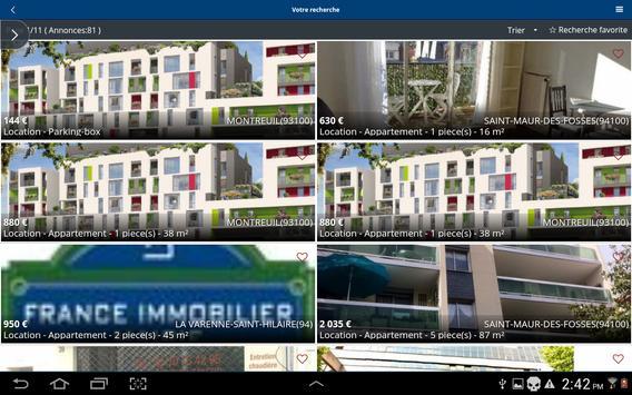 France immobilier apk screenshot