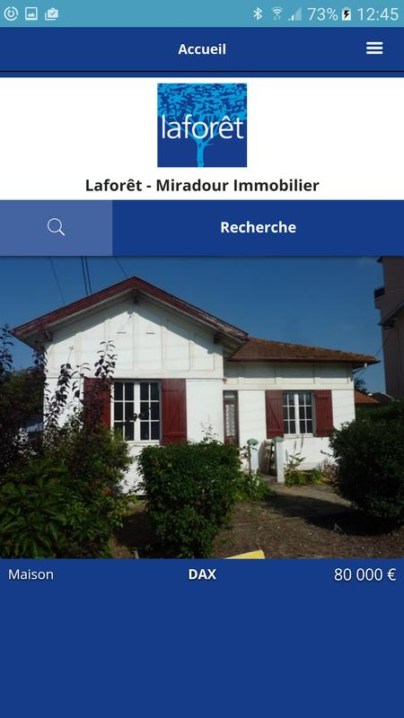 Agence immobili re lafor t dax apk download free tools for Agence laforet