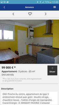 Agence Immobilière LaForêt Dax screenshot 1