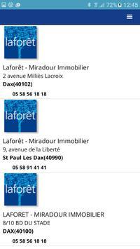Agence Immobilière LaForêt Dax screenshot 2
