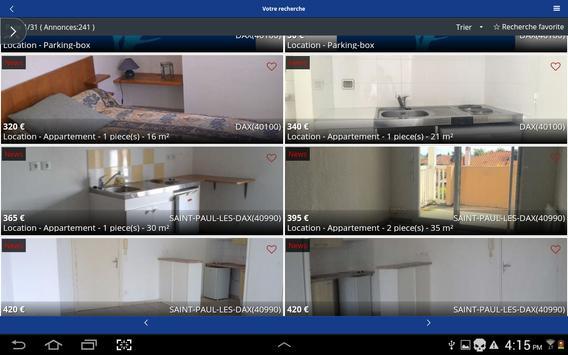Agence Immobilière LaForêt Dax screenshot 6