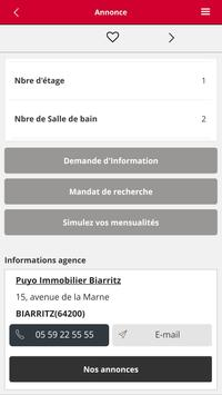 PUYO IMMOBILIER BIARRITZ screenshot 4
