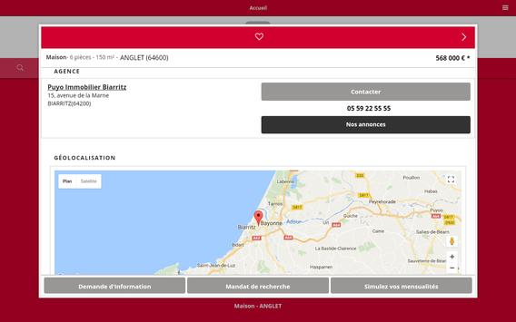 PUYO IMMOBILIER BIARRITZ screenshot 10