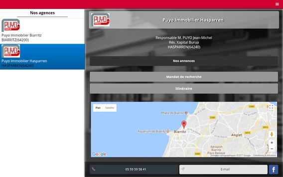 PUYO IMMOBILIER BIARRITZ screenshot 12