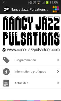 Nancy Jazz Pulsations poster