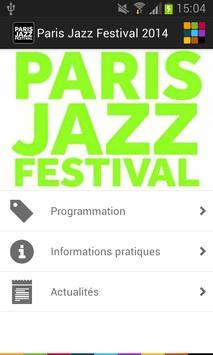 Paris Jazz Festival screenshot 1