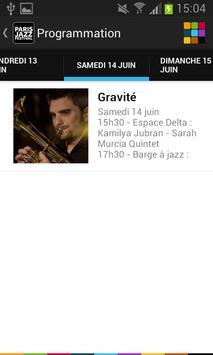 Paris Jazz Festival screenshot 2
