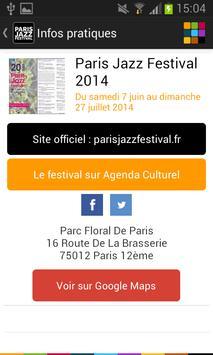 Paris Jazz Festival screenshot 4