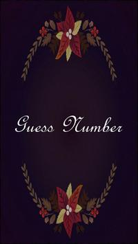 Guess Number poster