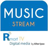 R Music Stream icon