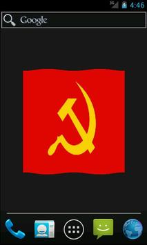 Anarchist & Communist Flag LWP poster