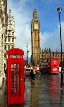 London Live Wallpaper poster