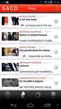 SACD.fr apk screenshot