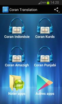 Coran Transliteration apk screenshot