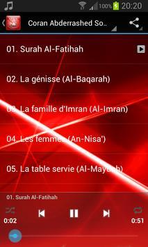 Quran Abderrashed Sofy screenshot 1