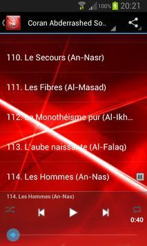 Quran Abderrashed Sofy screenshot 5