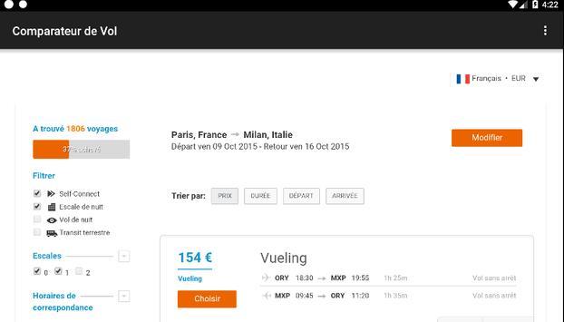 Airline ticket apk screenshot