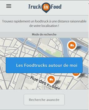 TruckinFood Food Trucks France poster