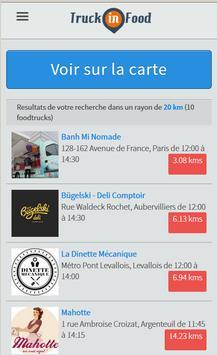 TruckinFood Food Trucks France screenshot 1
