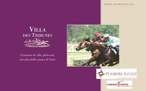Villa des Tribunes poster