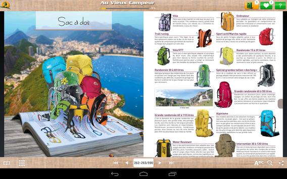 Vieux Campeur Catalogue apk screenshot