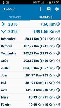 StatVélo : Statistiques du cycliste screenshot 3